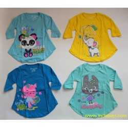 Kaos Tunik Qiuty uk 3y 2-3th idr 24rb per pc