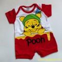 Romper Oyuki Pooh 0-6bl idr 35rb per pc