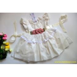 Dress Tutu Baby Pesta White uk 1-2th idr 110rb per pc