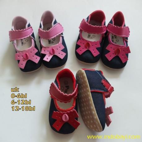 Sepatu Pipi Mimi Jeans Pita idr 33rb per psg