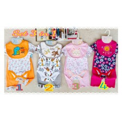 Setelan Jumper Samyong 3in1 Super lembut uk 0-3bl 3-6bl 6-9bl idr 88rb per set