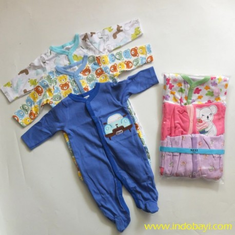 Sleepsuit Next Baby idr 135rb per pack isi 3pc