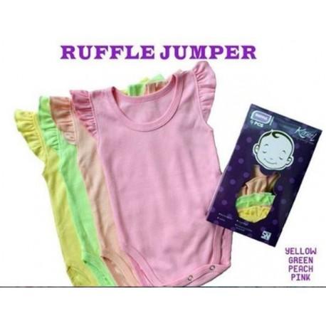 Jumper Singlet Ruffle uk NB 0-3bl, uk S 3-6bl, uk L 9-12bl