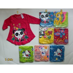 Kaos Tunik Qiuty Jan uk 1y 1-2th idr 25rb per pc