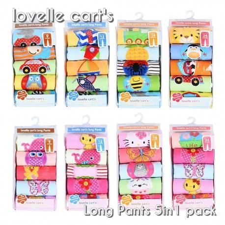 Celana Panjang Lovelle Carts idr 105rb per pack isi 5pc