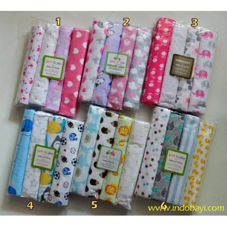 Bedong Bayi Carter uk 97x74cm idr 97rb per pack isi 4pc..