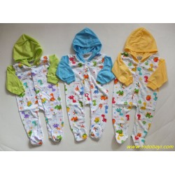 Sleepsuit Baby Motif 3 Warna uk0-3bl idr 25rb per pc