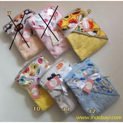 Selimut Carter Double Fleece Bertopi idr 65rb per pc