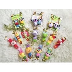 Gelang Rattle Boneka Baby idr 25rb per pc