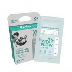 Kantong ASI Vitaflow idr 42rb per pack isi 25pc 100ml