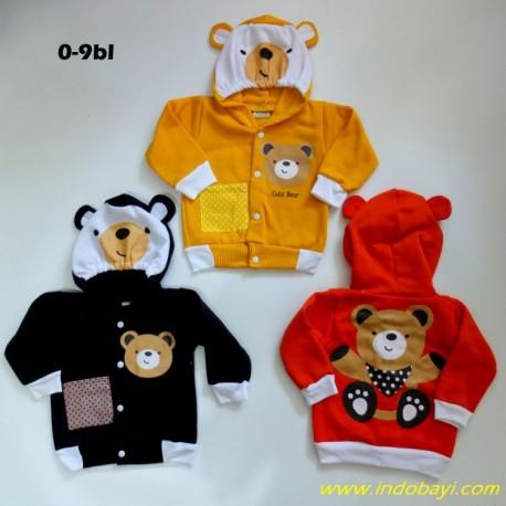 Jaket Baby NN Bear idr 31rb per pc