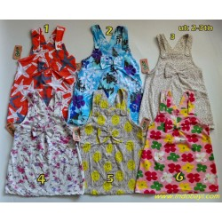 Dress Overal Pita Bobo Kids 2-3th idr 35rb per pc