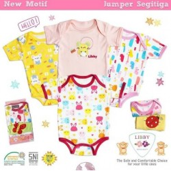 Jumper Libby Baby Boy idr 130rb per pack isi 4pc
