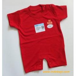 Romper Baby Miyo Merah 0-3bl idr 25rb per pc