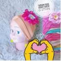 Turban Baby Sasa Jersey idr 15rb per pc
