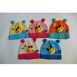 Kupluk Baby Bee 0-12bl idr 40rb per pc