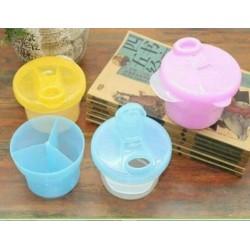 Container Susu Bayi / Container Sekat 3 / Dispenser Susu Bayi / Tempat Susu Bayi idr 28rb set