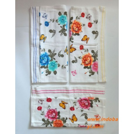 Handuk Baby Bunga Vintage uk 90x50cm 48rb per pc