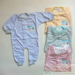Sleepsuit Baby Miyo Salur 0-3bl idr 28rb per pc