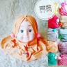 Kerudung Baby Pita Timbul idr 30rb 0-20bl